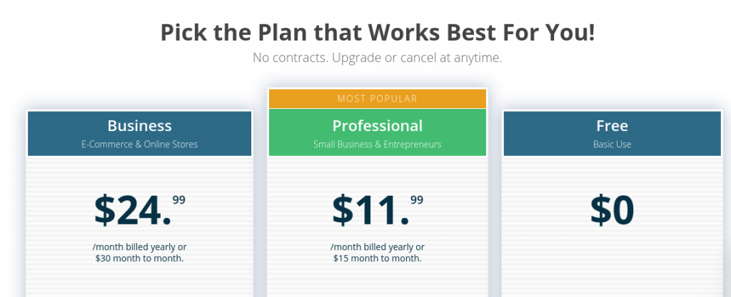 bookmark pricing plans
