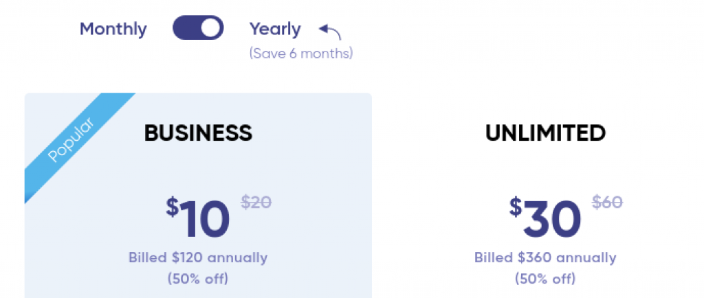 Invideo pricing plans yearly